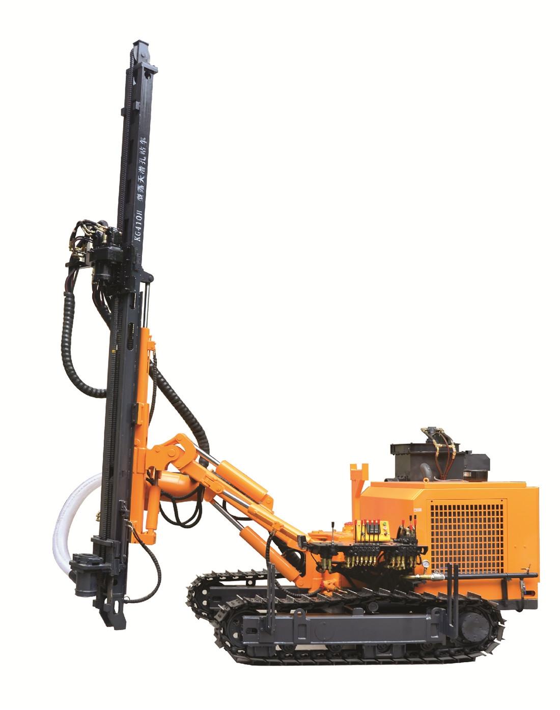 KG410/KG410H露天履带式潜孔钻车