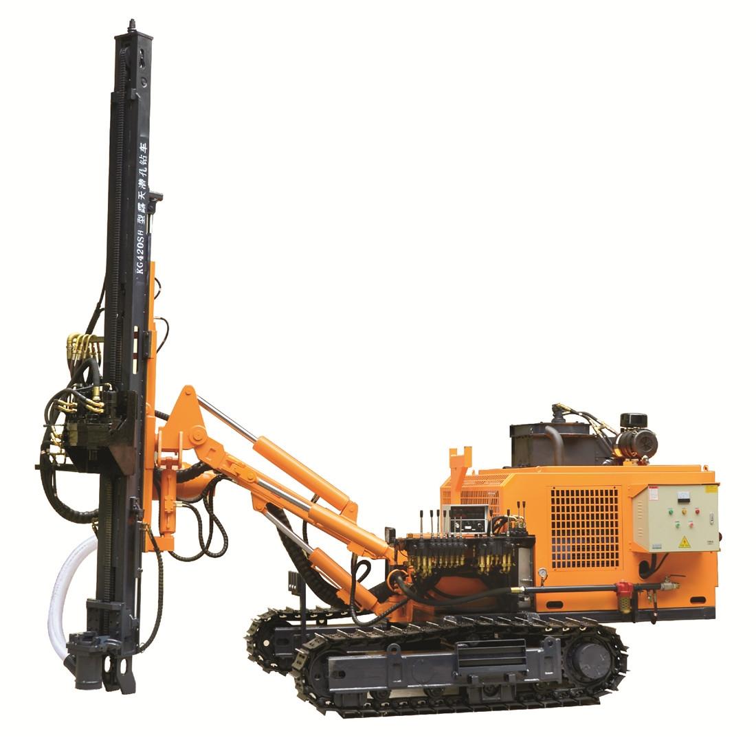 KG420S/KG420SH露天履带式潜孔钻车