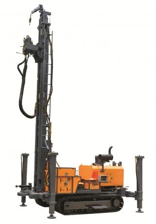 KW400Ⅲ型地热水井多功能钻车