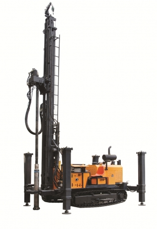 KW600Ⅲ型地热水井多功能钻机